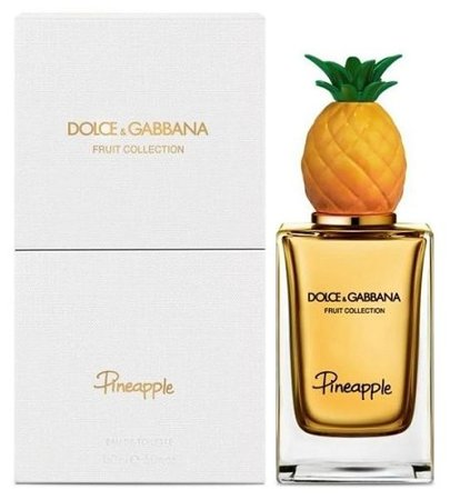 dolce & gabbana fruit collection - pineapple